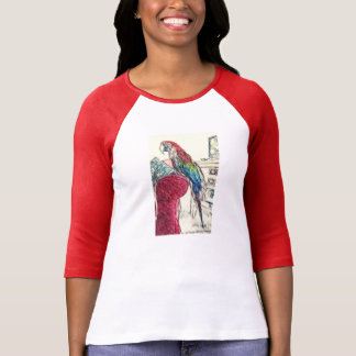 Lulu Macaw On The Sofa T-Shirt