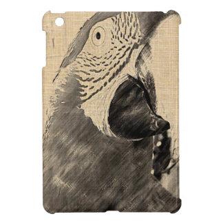 Lulu Macaw Sketch iPad Mini Cover