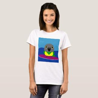 Lulu the Senegal parrot Surfing T-shirt