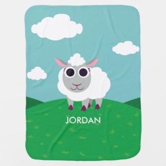 Lulu the Sheep Baby Blanket