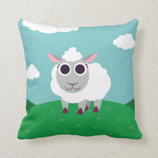 Lulu the Sheep Cushion