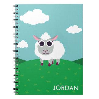 Lulu the Sheep Notebook