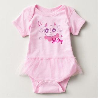 LuluPop Team Ballerina Baby Bodysuit