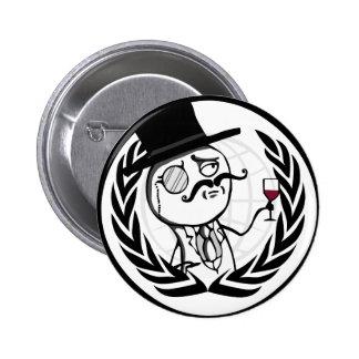 LulzSec Anonymous Logo 6 Cm Round Badge