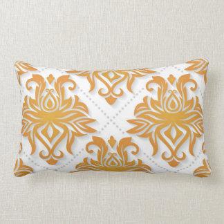 Lumbar Pillow Gold Design Throw Cushions