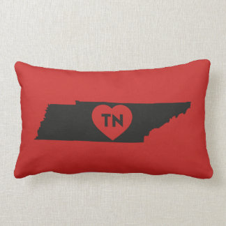 Lumbar Pillow I Love Tennessee State