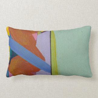 Lumbar pilow original abstract art lumbar cushion