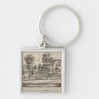 Lumber and Grist Mills in Arlington Vermont Key Ring
