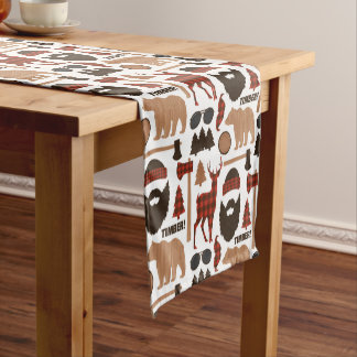 Lumberjack Pattern Short Table Runner