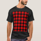 Lumberjack Style - red fabric + your ideas T-Shirt