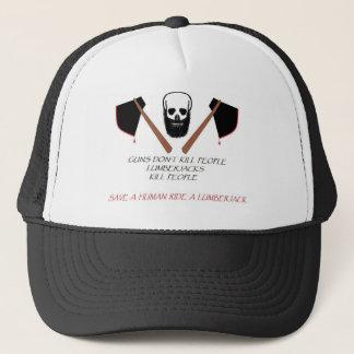 LUMBERJACK TRUCKER HAT