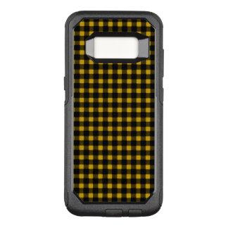 Lumberjack Yellow Black Winter Buffalo Plaid OtterBox Commuter Samsung Galaxy S8 Case