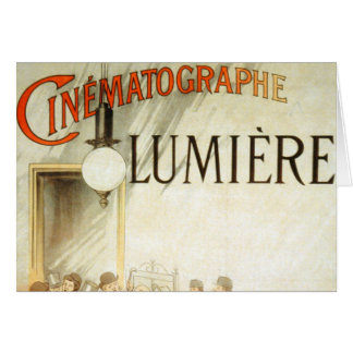 Lumière Brothers Cinema Poster Cards