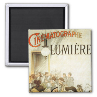 Lumière Brothers Cinema Poster Magnet