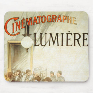 Lumière Brothers Cinema Poster Mouse Pads