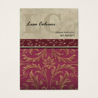 Lumiére Professional Custom Baroque Business Card