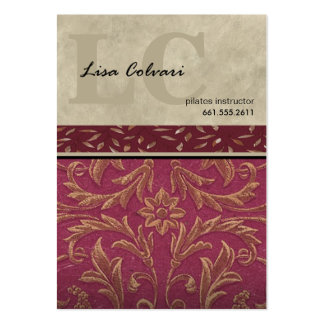 Lumiére Professional Custom Baroque Pack Of Chubby Business Cards