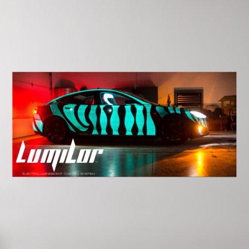 LumiLor Tesla Poster