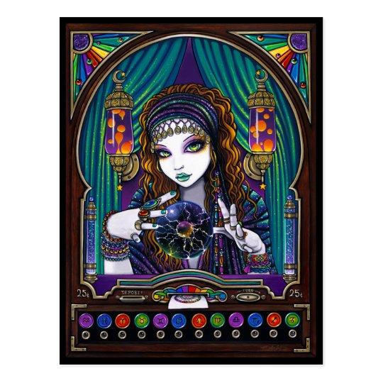 Lumina Bohemian Gypsy Fortune Teller Machine Postcard