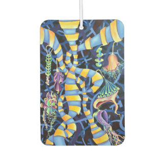 Luminescence Tropical Abstract Car Air Freshener