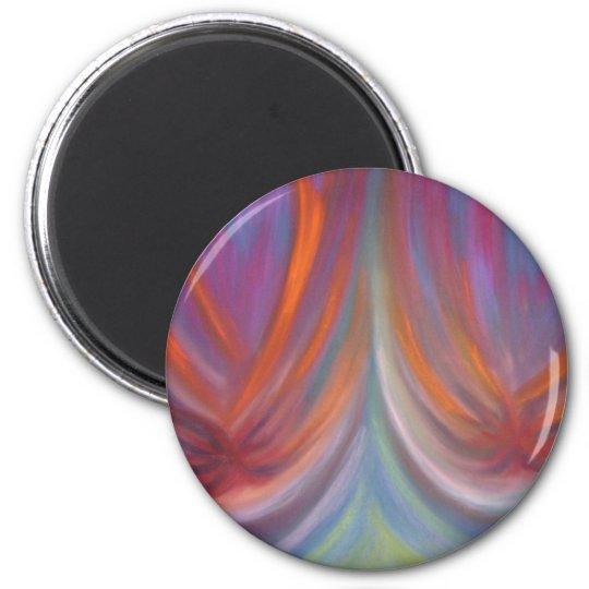 Luminescent 6 Cm Round Magnet