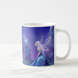Luminescent Fairy & Dragon Art Mug