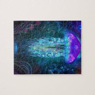 Luminescent Jellyfish Jigsaw Puzzle