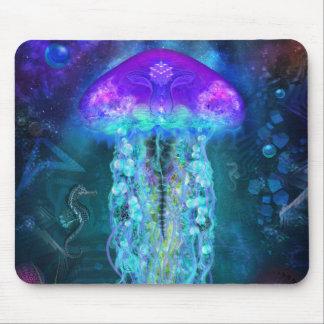 Luminescent Jellyfish Mouse Mat