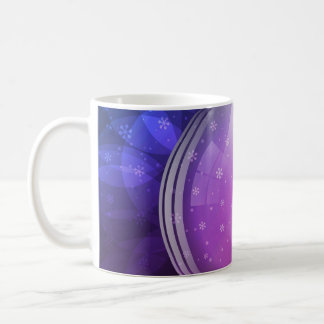 Luminescent snow globe basic white mug