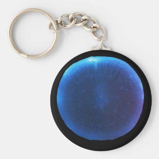 Luminol on a radish key ring