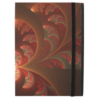 "Luminous abstract modern orange red Fractal iPad Pro 12.9"" Case"