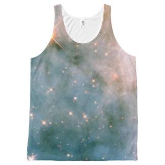 Luminous Carina Nebula All-Over Print Tank Top