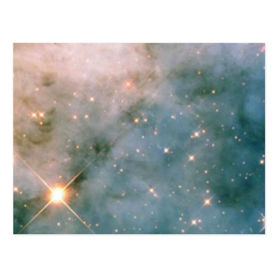 Luminous Carina Nebula Postcard