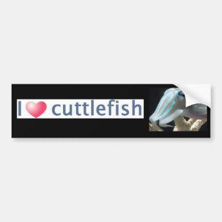 Luminous Cuttlefish Bumper Sticker