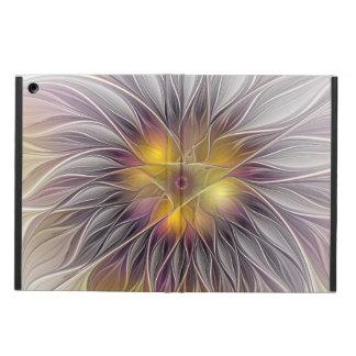 Luminous Flower, Abstract Fractal Art iPad Air Case