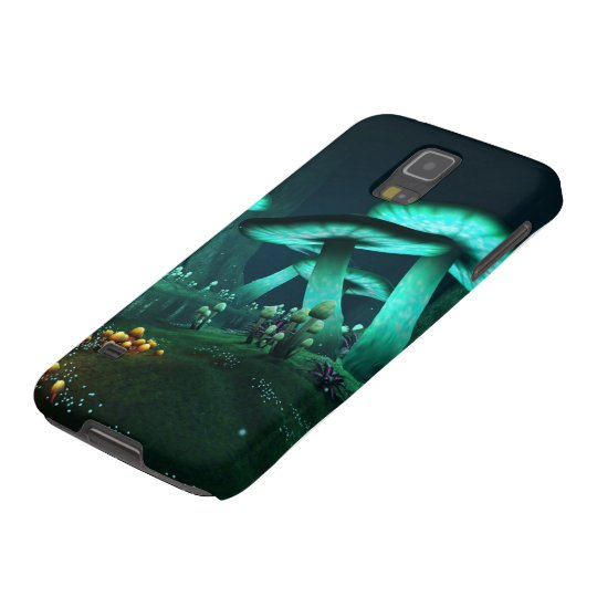 Luminous Mushrooms Samsung Galaxy S5 Case