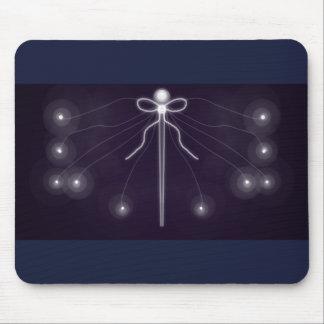 Luminous pin mouse pad