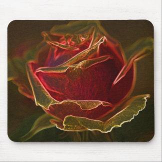 Luminous Rose Mousepad