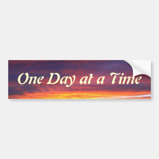 Luminous Sunset ODAT Bumper Sticker