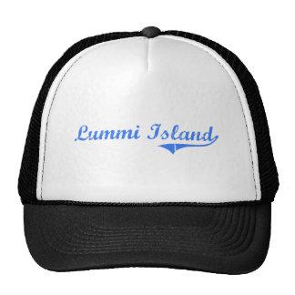 Lummi Island Washington Classic Design Mesh Hat