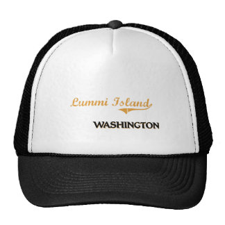 Lummi Island Washington Classic Hats
