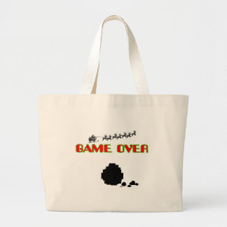 Lump Of Coal-Game Over Canvas Bags