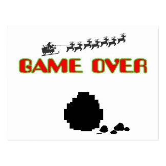 Lump Of Coal-Game Over Postcard