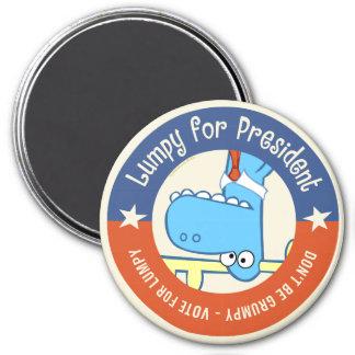 Lumpy for President Magnet