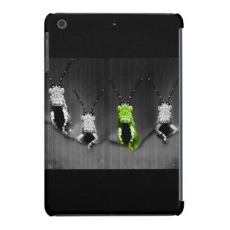 Lumpy Green Bug iPad Mini Retina Covers