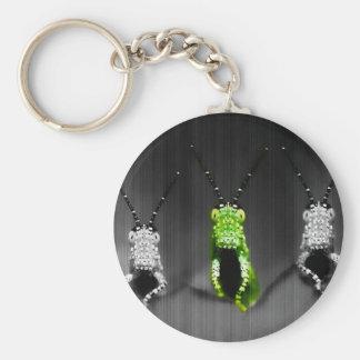 Lumpy Green Bug Key Chains