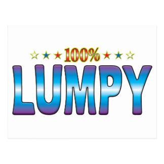 Lumpy Star Tag v2 Postcard