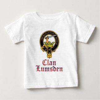 Lumsden scottish crest and tartan clan name baby T-Shirt