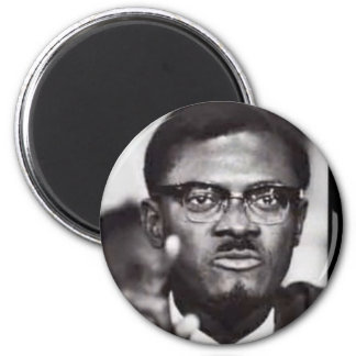 Lumumba 6 Cm Round Magnet