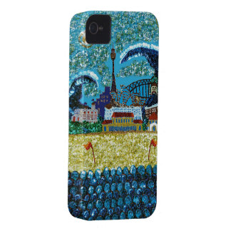 Luna Bondi Sequin Art iPhone 4 Barely There iPhone 4 Cases